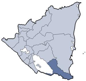 Río San Juan Department - Image: Nicaragua Río San Juan