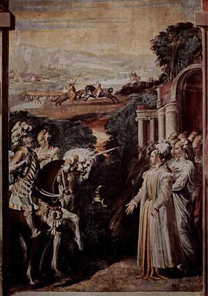 Alcina - Alcina Meets Ruggiero, Niccolò dell'Abbate, c. 1550