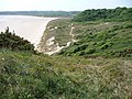Nicholaston Burrows, dunes backing Oxwich Bay - geograph.org.uk - 2417001.jpg