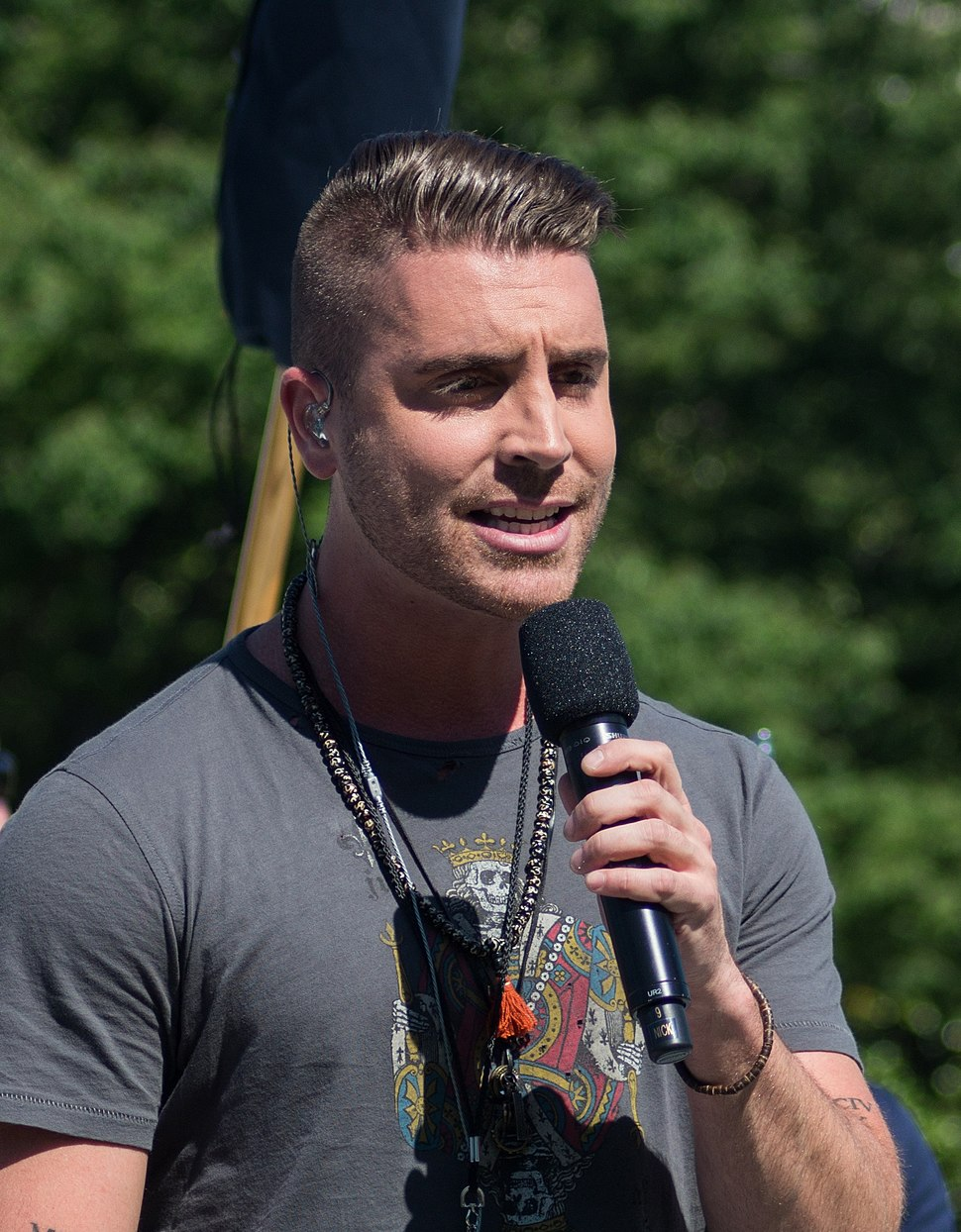 Nick Fradiani at the National Memorial Day Concert