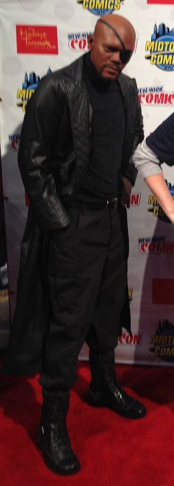 Nick Fury in New York Comic Con 2013.jpg