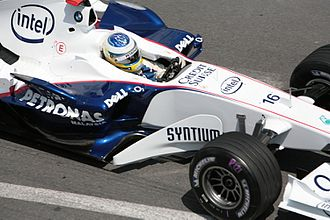 2006 Monaco Grand Prix - Nick Heidfeld scored two World Championship points by finishing in seventh position.