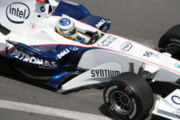 Nick Heidfeld scored one World Championship point by finishing in eighth position.