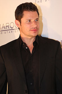 Nick Lachey - the cool, hot,  actor, musician, writer,   with German, French, Irish, Scottish, English, Dutch,  roots in 2019