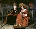 Nicolaes Maes - Vertumnus and Pomona.JPG