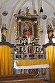 Niedergail, Kath. Filialkirche Maria Hilf, Altar.JPG