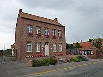 Nielles-lès-Ardres (Pas-de-Calais) mairie.JPG