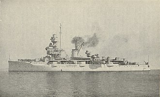 Coastal defence ship - HDMS Niels Juel in 1939