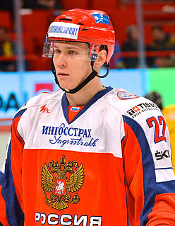 Nikita Zaitsev Russian ice hockey player