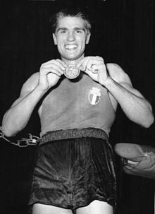 Nino Benvenuti At The 1960 Olympics