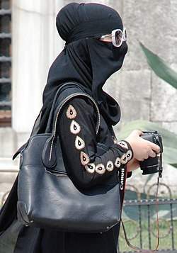 Niqab with modern accessories.jpg