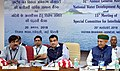 Nitin Gadkari chairing the 15th meeting of special committee for interlinking of rivers and 32nd annual general meeting of NWDA, in New Delhi.JPG