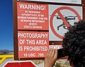 No Photography photo at the Main Gate of Area 51.jpg
