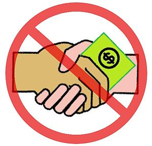 International Anti-Corruption Day - Image: Nodollarhandshake