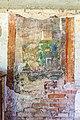 Noetsch 14 ehem Gasthof Michor Gartenhaus-Rueckwand Probefresken von Anton Kolig 08052015 3410. 3411.jpg