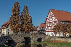 Nordheim vor der Rhön, Streubrücke, Rathaus-20151101-002.jpg
