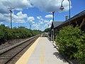 North end of Durham-UNH station platform, June 2014.jpg