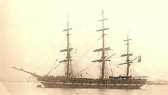 Blackwall frigate - The Blackwall Frigate Northfleet (1853)