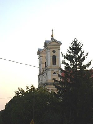 Novo Miloševo - Image: Novo Miloševo, Catholic Church