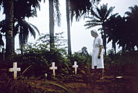 Nurse-nun visits graves of victims of 1976 Zaire Ebola outbreak.jpg