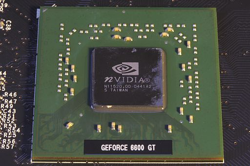 Nvidia Geforce 6600GT GPU 2009-01-27