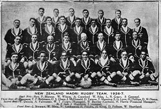 Māori All Blacks - The team that toured to Europe in 1926–27