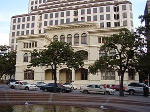 University of Texas System - O. Henry Hall, the former main administrative building for the system, is in Downtown Austin