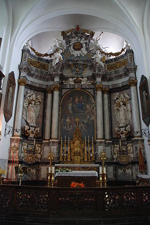 Pieter Scheemaeckers - Main altar in the Our Lady of Kortenbos Basilica
