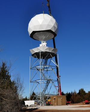 OU-PRIME - Completion of radome for OU-PRIME