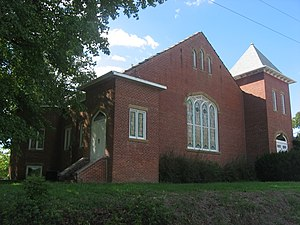 Oakdale, Illinois - Oakdale's former Reformed Presbyterian church