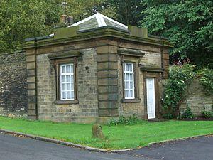 Oakes Park, Sheffield - The gatehouse on School Lane