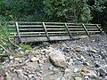 Obsolete Footbridge beside Blackton Beck - geograph.org.uk - 1508192.jpg