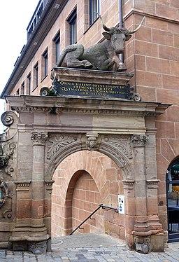 Ochsenportal - Nuremberg, Germany - DSC01907