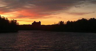 Hämeenlinna - October sunset - Hämeenlinna