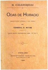 Matías Calandrelli: Odas de Horacio