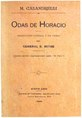 Odas de Horacio - Traducidas por Bartolomé Mitre.pdf