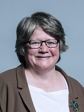 Thérèse Coffey - Image: Official portrait of Dr Thérèse Coffey crop 2