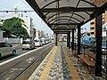 Okayama Electric Tramway Seikibashi tram stop - panoramio (1).jpg