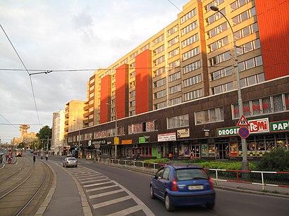 How to get to Olšanské Náměstí with public transit - About the place