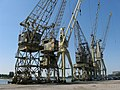 Old Antwerp Harbor Cranes - panoramio.jpg
