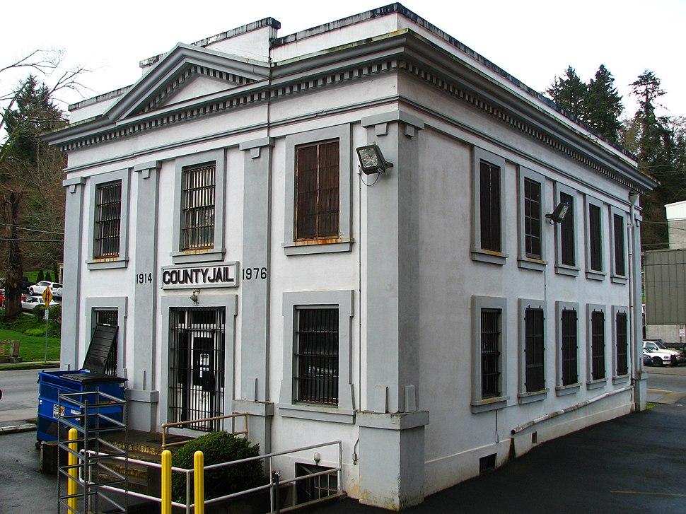 Old Clatsop County jail - Astoria Oregon