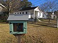 Old Jefferson Jefferson Parish Louisiana Jan 2018 Claiborne Court Little Free Library.jpg