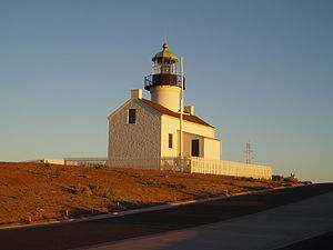 Old Point Loma lighthouse at sunset 06.JPG