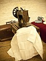 Old sewing machine, Kilmainham Gaol, Dublin.jpg