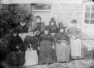Old women, Llangeitho