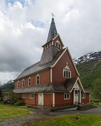 Stryn - Olden Church