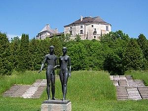 Olesko Castle - Olesko Castle view from the park.