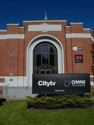 Omni Television - Omni Television at 545 Lake Shore Boulevard West.