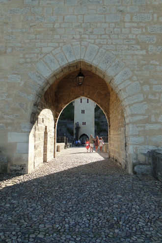 Cahors - On the bridge