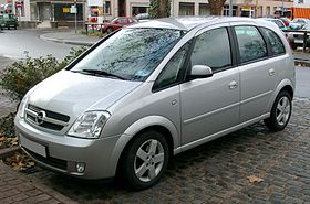 Opel Meriva on audi transmission types